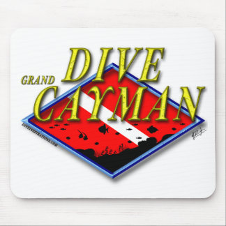 Dive Grand Cayman Mouse Pad