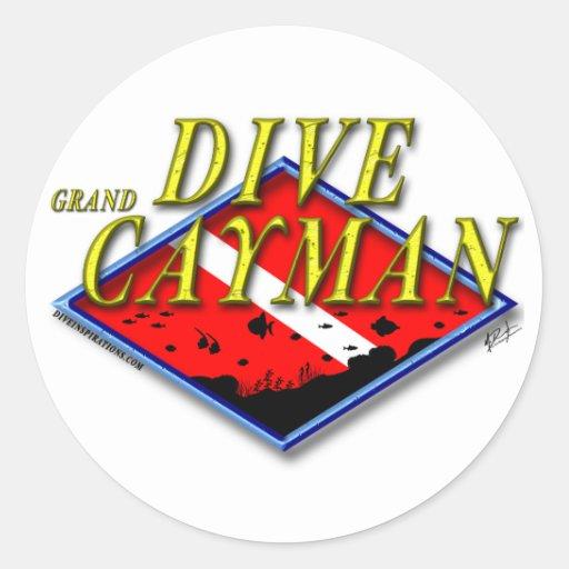 Dive Grand Cayman Sticker  Zazzle