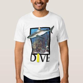 Dive Groupy, diving, shark T-Shirt
