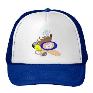 Dive Trucker Hat