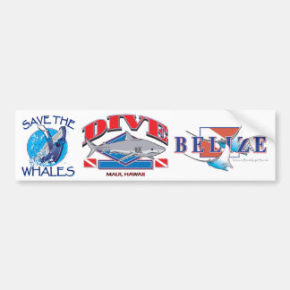 Dive Hawaii, Bumper Sticker