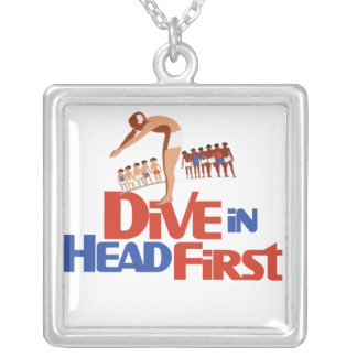Dive in custom necklace