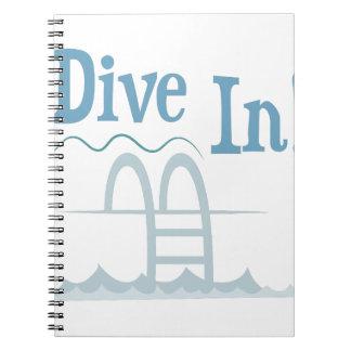 Dive In Note Books