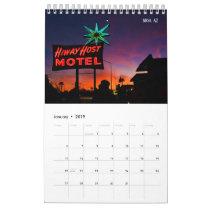 Dive Into 2019 Calendar of Vintage Signs