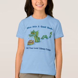 Dive Into A Good Book. T-Shirt