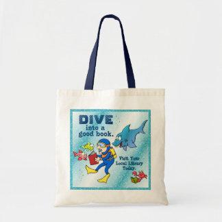 Dive Into A Good Book Tote Bag