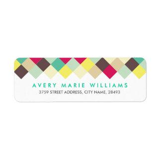 Dive Into Color Return Address Label