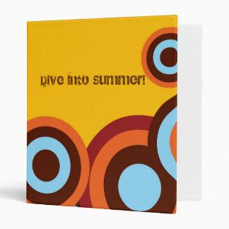 Dive Into Summer Binder
