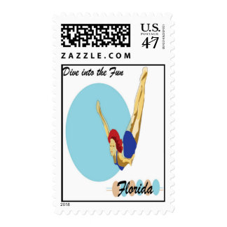 Dive into the fun stamp