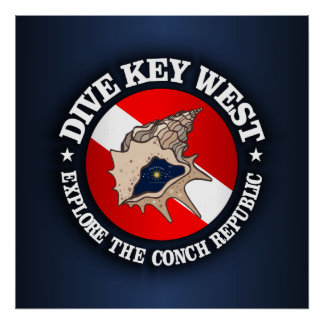 Dive Key West Poster