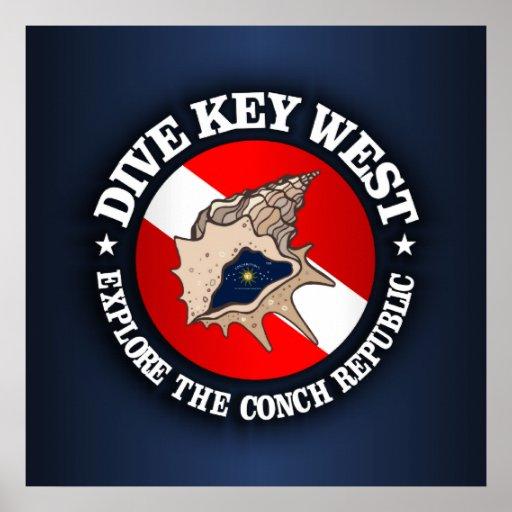 Dive Key West Posters