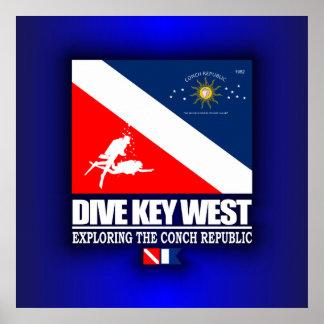 Dive Key West Print