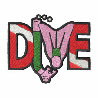 Dive Logo Embroidered Hooded Sweatshirt