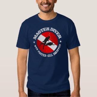 Dive Master (Medallion) Tee Shirt