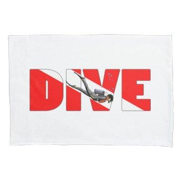 dive master pillowcase