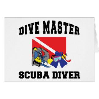 Dive Master SCUBA Diver Card