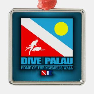 Dive Palau Metal Ornament