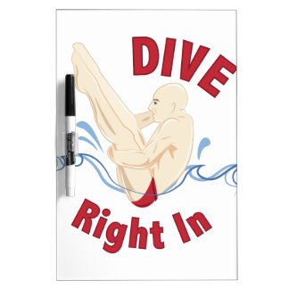 Dive Right In Dry Erase Whiteboards