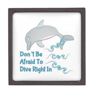 Dive Right In Keepsake Box