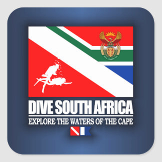Dive South Africa Square Sticker