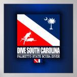 Dive South Carolina Posters