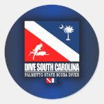 Dive South Carolina Stickers