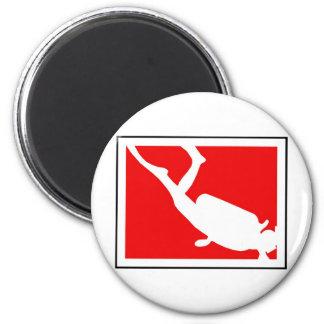 Dive Symbol Magnet
