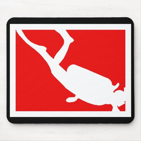 Dive Symbol Mouse Pad