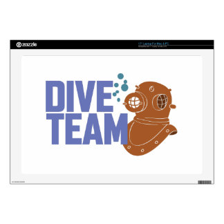 Dive Team Decal For Laptop