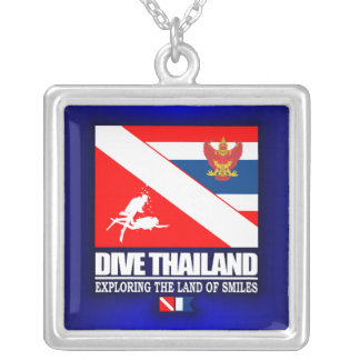 Dive Thailand Silver Plated Necklace