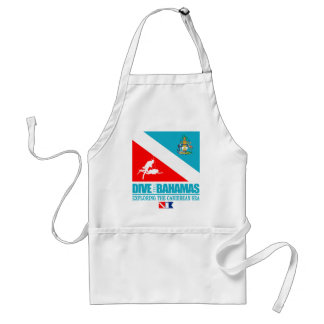 Dive The Bahamas Adult Apron