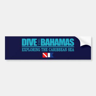 Dive The Bahamas Bumpersticker Bumper Sticker