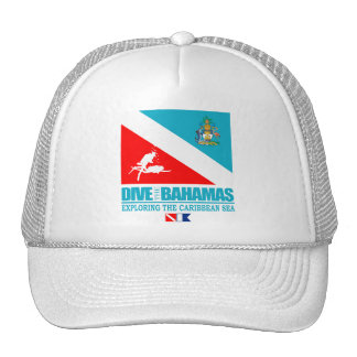 Dive The Bahamas Trucker Hat