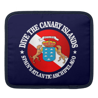 Dive the Canary Islands Sleeve For iPads