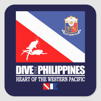 Dive the Philippines Stickers
