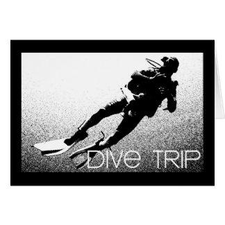 Dive Trip Greeting Card