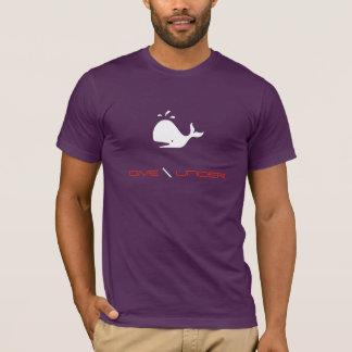 Dive Under SCUBA Whale T-shirt