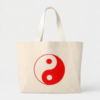 Dive Ying Yang Large Tote Bag