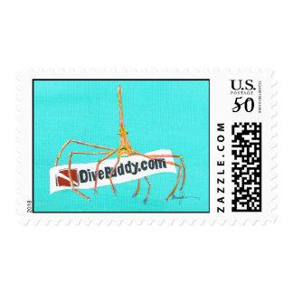 DiveBuddy.com Arrow Crab Stamps