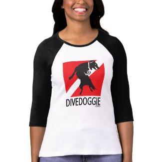 DiveDoggie Baseball Shirt