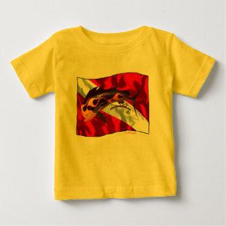 DiveFlag with Flamed Dorado Baby T-Shirt