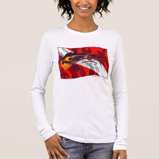 DiveFlag with Flamed Dorado Long Sleeve T-Shirt