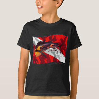 DiveFlag with Flamed Dorado T-Shirt