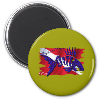 DiveGear Collection 2 Inch Round Magnet
