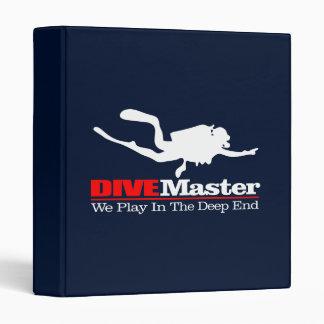 DIVEMaster 3 Ring Binder