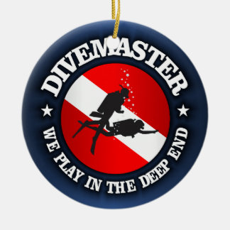 Divemaster (Deep End) Ceramic Ornament