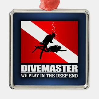 Divemaster (Deep End) Metal Ornament