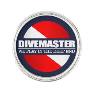 Divemaster (rd) pin