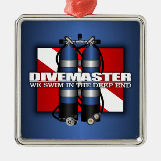 Divemaster (Scuba Tanks) Metal Ornament