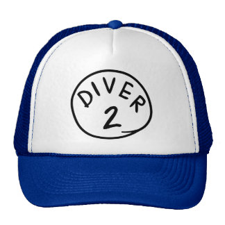 Diver 2 trucker hat